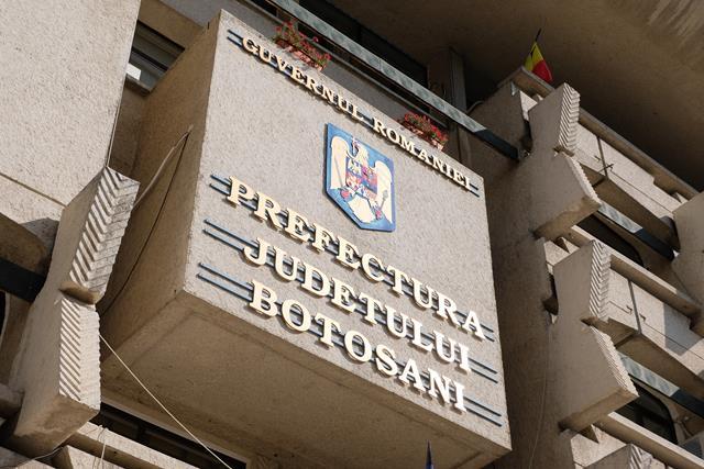 Județul Botoșani are și al doilea subprefect