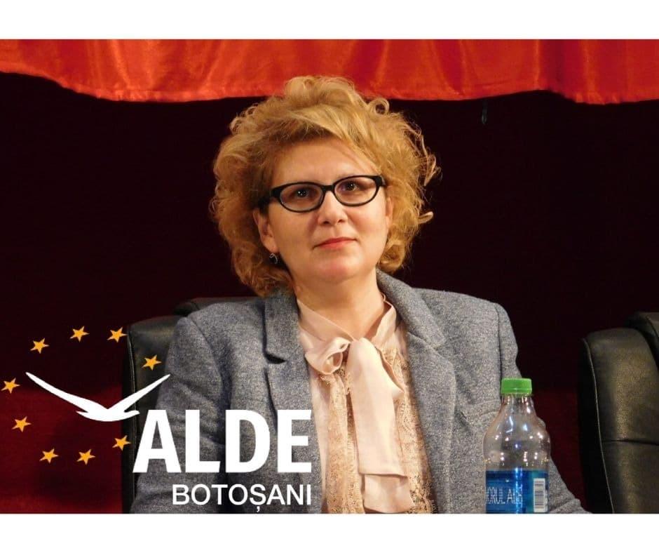 """Roxana Florentina Țurcanu, președinte ALDE Botoșani:  """"  """"Dorim produse bio românești, dar avem parte tot de importuri în magazine!"""""""
