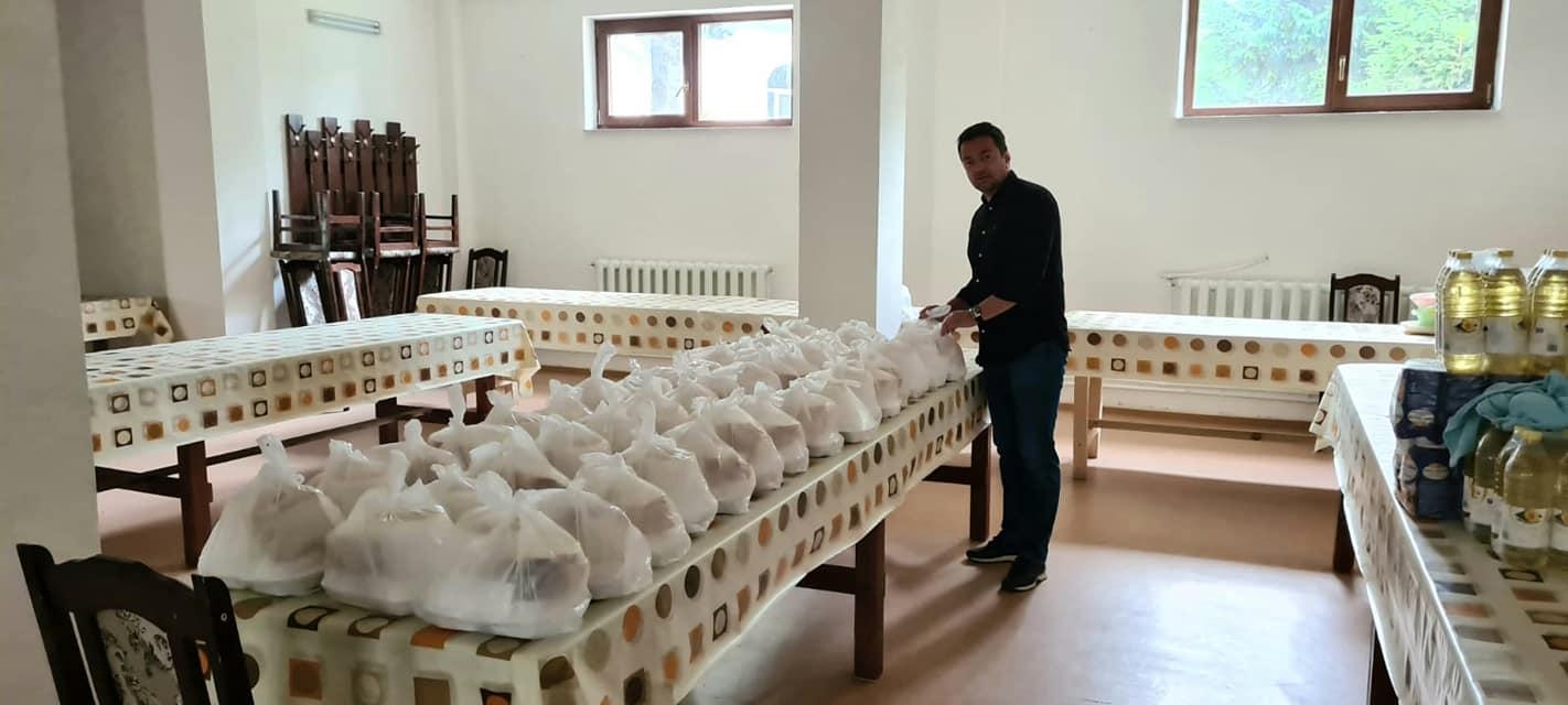 Cantina Bisericii Vovidenia a primit o donație importantă din partea deputatului Razvan Rotaru