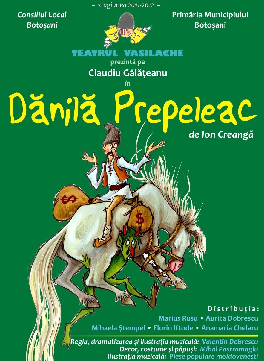 """""""Danila Prepeleac"""" un spectacol vesel pentru copii cuminti"""
