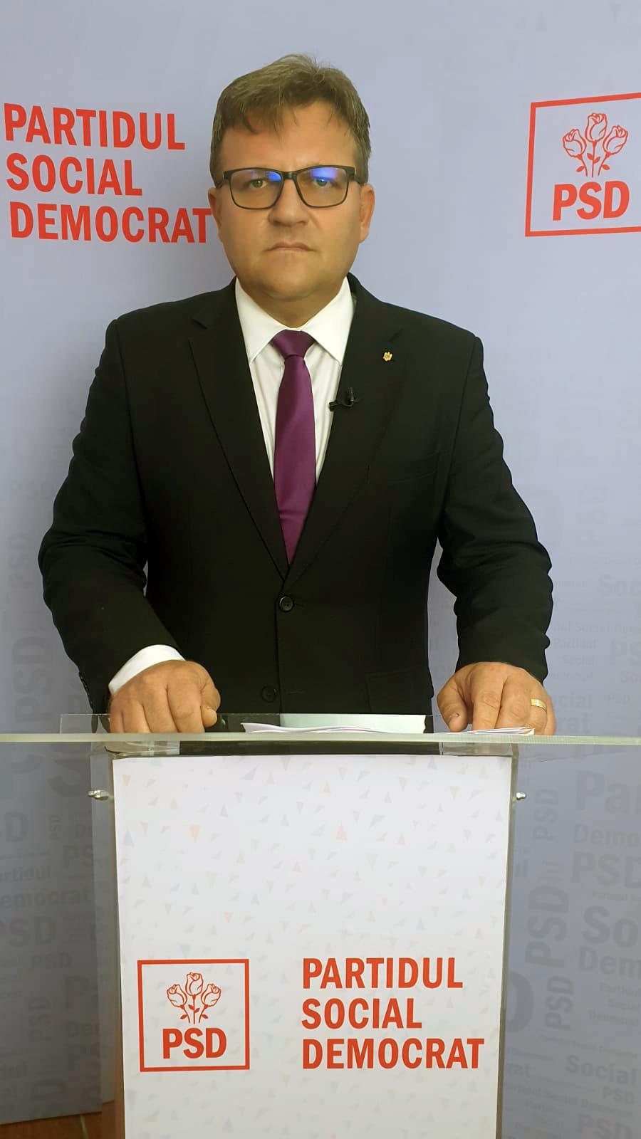 MARIUS BUDĂI este propunerea PSD pentru conducerea Comisiei parlamentare de anchetă privind achiziţiile şi gestionarea stării de urgenţă