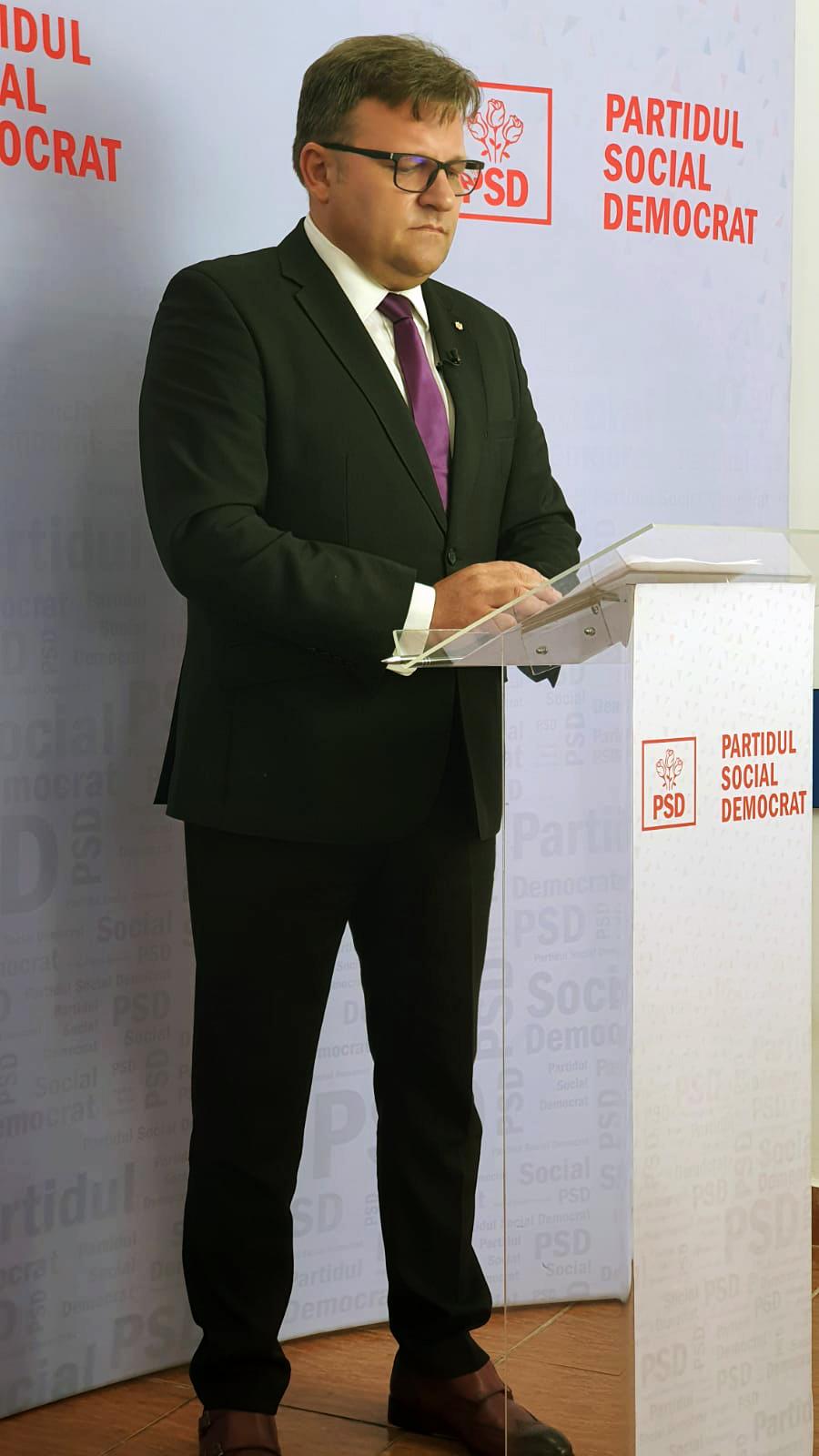 """Marius Budăi, șeful de campanie al PSD Botoșani la alegerile locale: """"Toți candidații social-democrați vor fi într-un dialog direct cu botoșănenii """""""