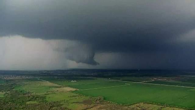 COD PORTOCALIU de vreme rea  pentru 9 localități din județul Botoșani