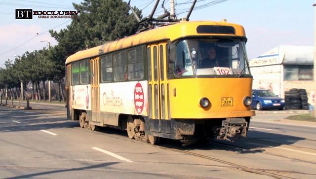 Astăzi va fi ultima zi în care tramvaiele Tatra vor circula în municipiul Botoșani