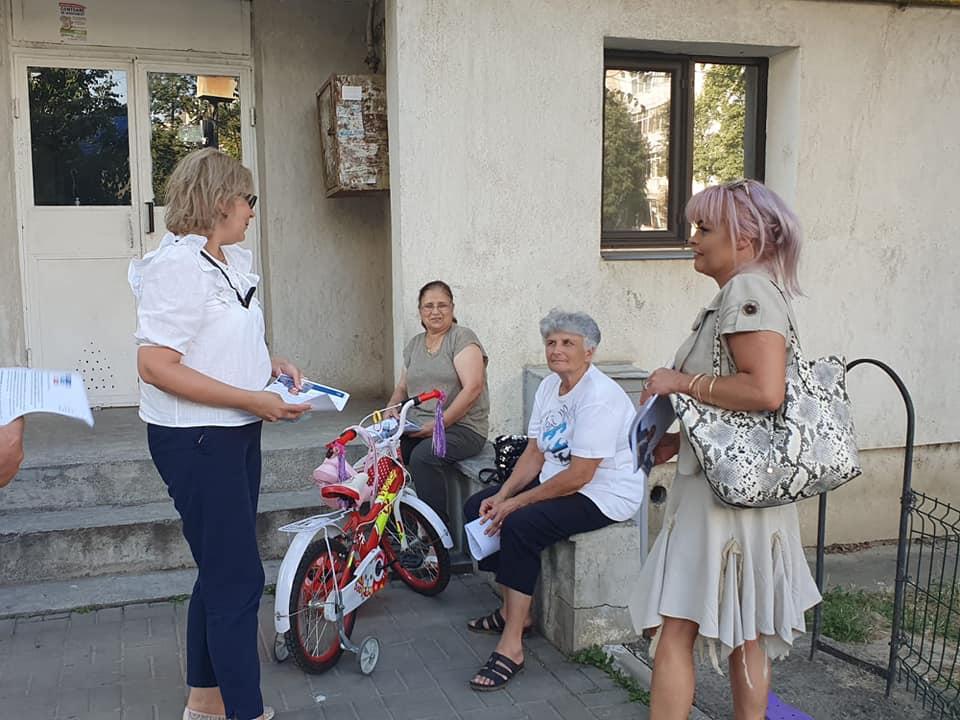 Candidatul ALDE la PRIMĂRIA Botoșani a discutat cu cetățenii din câteva zone ale municipiului despre problemele cu care se confruntă aceștia