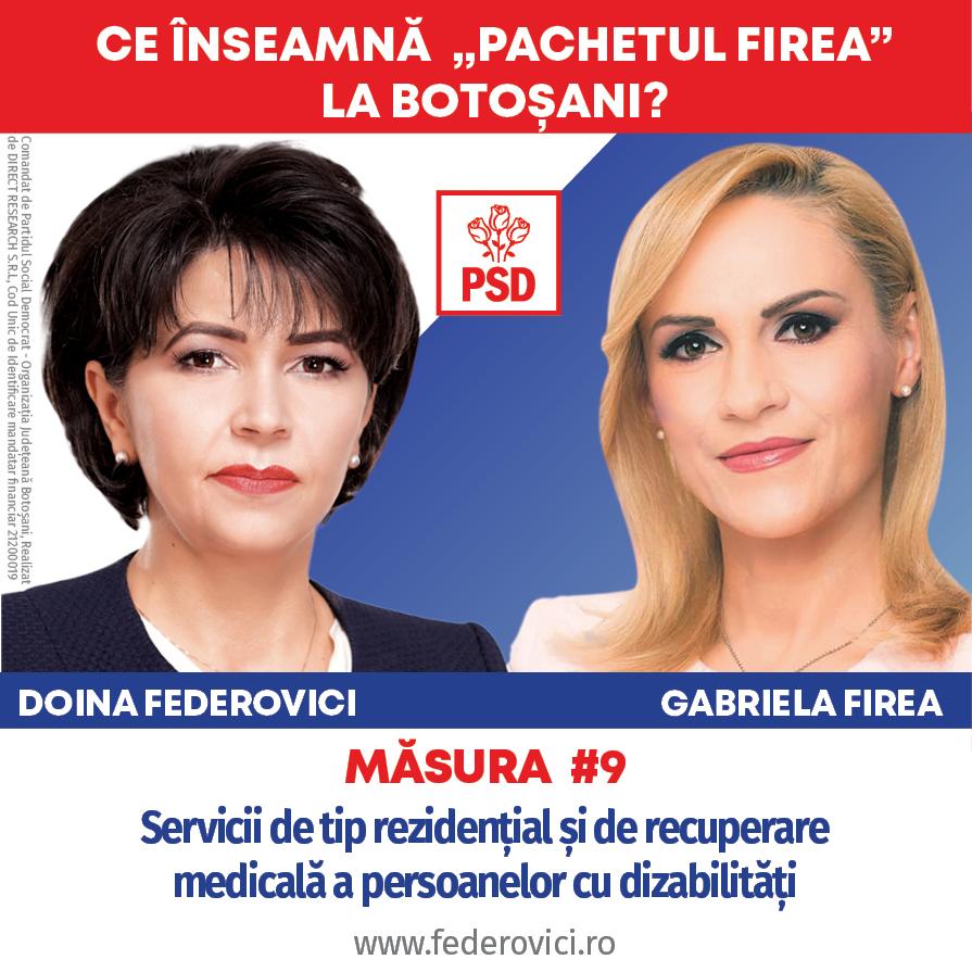 """(P)  Doina Federovici: """"Persoanele vârstnice și botoșănenii cu dizabilități vor beneficia de sprijinul necondiționat al Consiliului Județean în mandatul meu"""""""