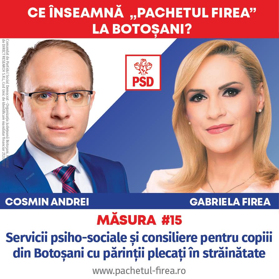 (P)  Consilierea și serviciile psiho-sociale pentru copiii din Botoșani cu părinții plecați la muncă în străinătate sunt priorități ale candidaților PSD