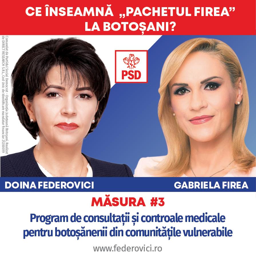 (P)   Cabinete medicale școlare dotate în unitățile de învățământ din Botoșani și controale gratuite pentru botoșănenii din comunitățile vulnerabile