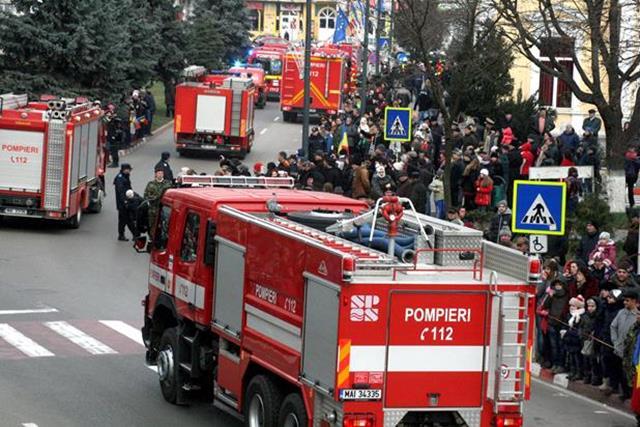 Pompierii botoşăneni – 180 ani în slujba comunităţii