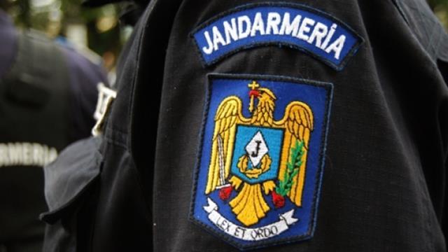 Jandarmii în misiune la Hramul mănăstirii Vorona