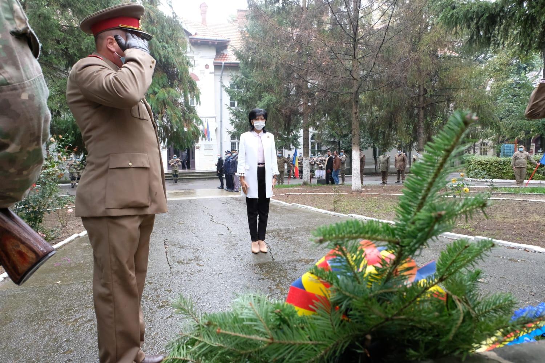 """Doina Federovici, Președinte Consiliul Județean Botoșani: """"Cinste și onoare militarilor noștri care sunt cei mai valoroși și mai autentici ambasadori ai României"""""""