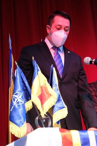 FOTO/  Primarul orașului Bucecea Angel Gheorghiu, a depus jurământul
