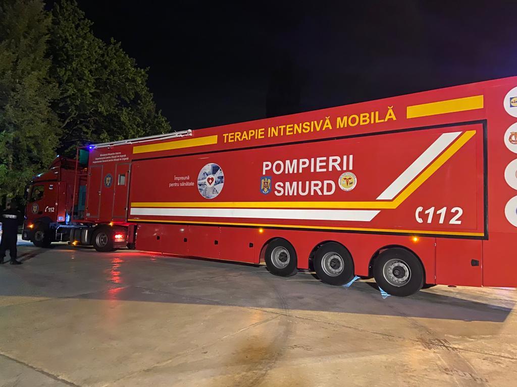 COVID-19:  O unitate mobilă de terapie intensivă va ajunge la Botoșani
