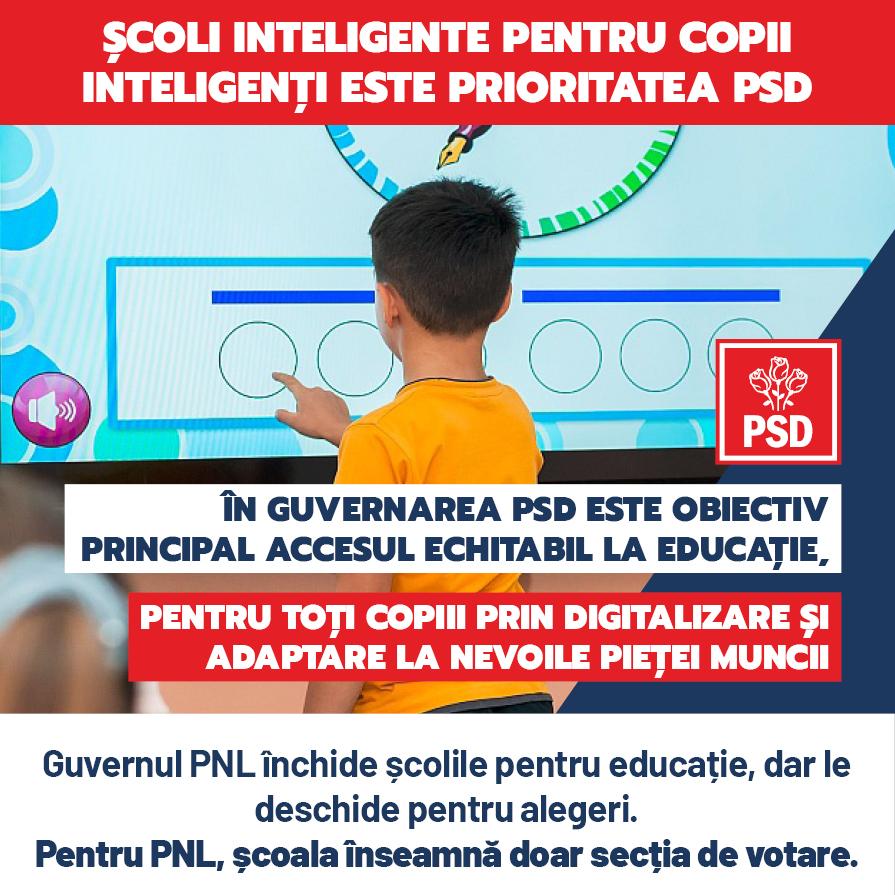 Guvernul Orban a sacrificat sănătatea și educația copiilor noștri pentru alegeri! PNL și aliații săi sunt responsabili pentru agravarea crizei medicale și economice!