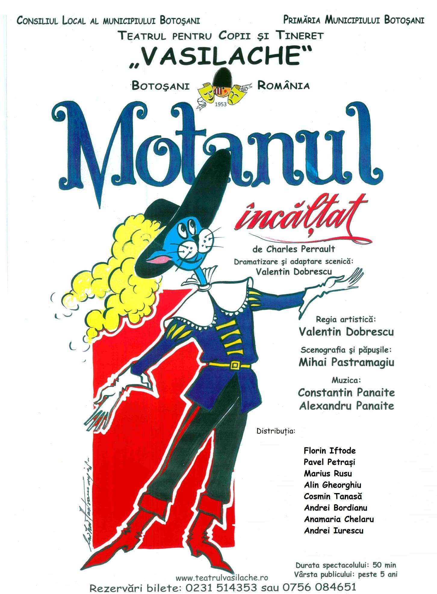 O reîntâlnire cu Motanul încălțat la Teatrul Vasilache