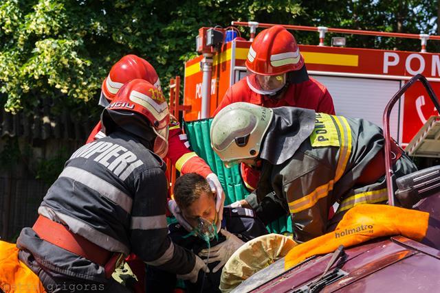 276 misiuni ale pompierilor botoșăneni, săptămâna trecută