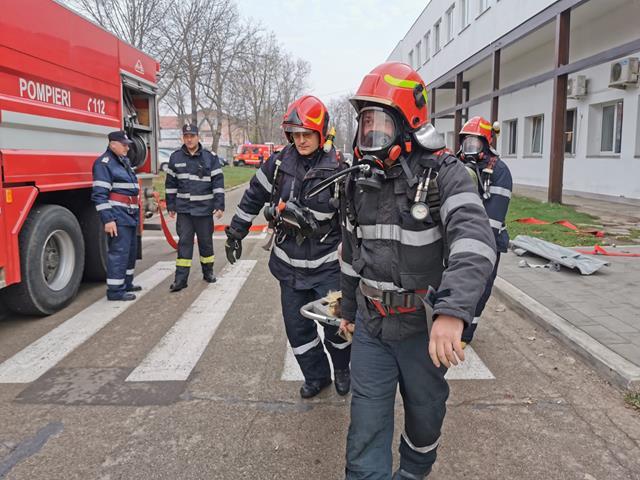 267 misiuni ale pompierilor botoșăneni, săptămâna trecută