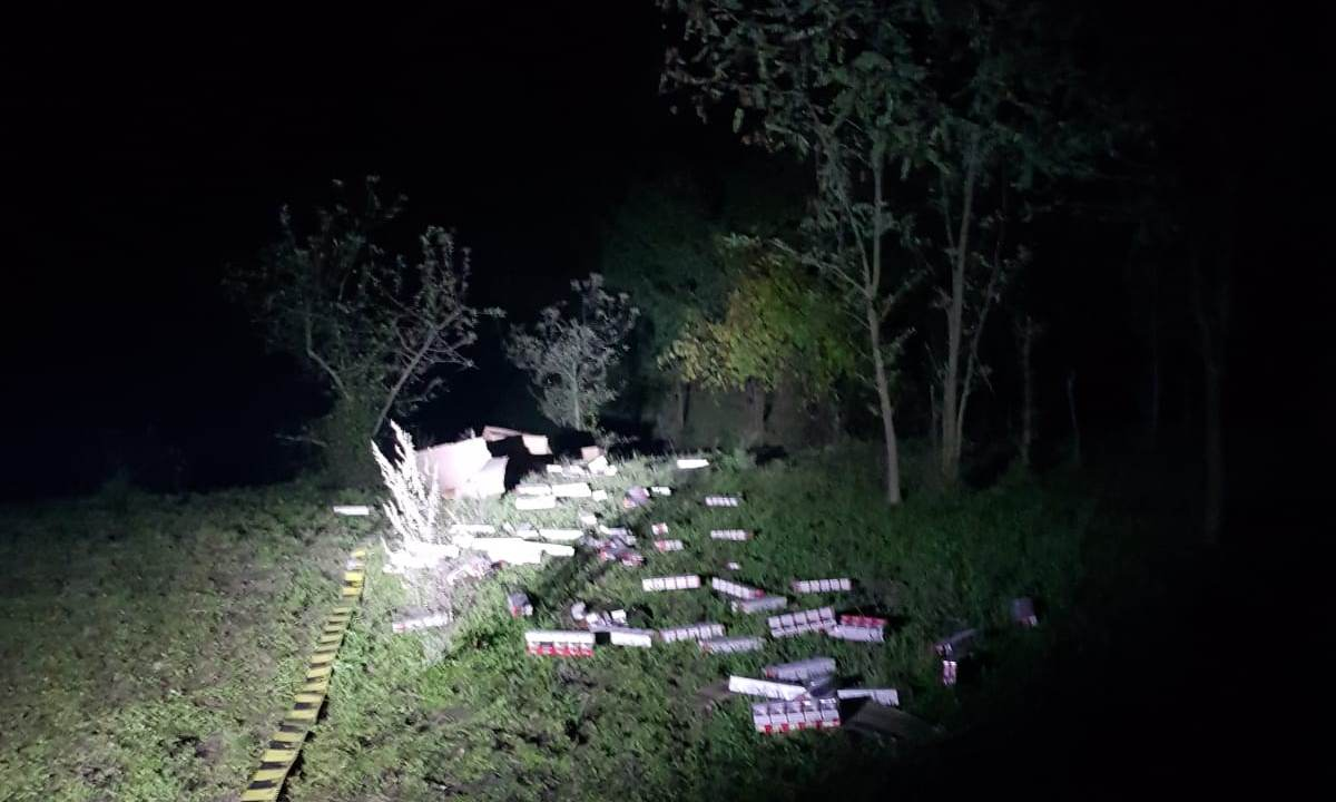 Peste 30.000 de țigarete de contrabandă, descoperite de polițiștii de frontieră botoșăneni