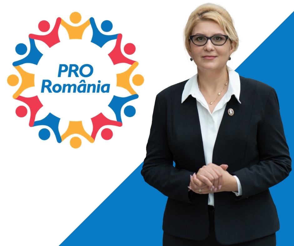 """Roxana Florentina Țurcanu, candidatul PRO România pentru Senatul României: """"  După alegerile parlamentare, românilor li se vor impune noi restricții!"""""""