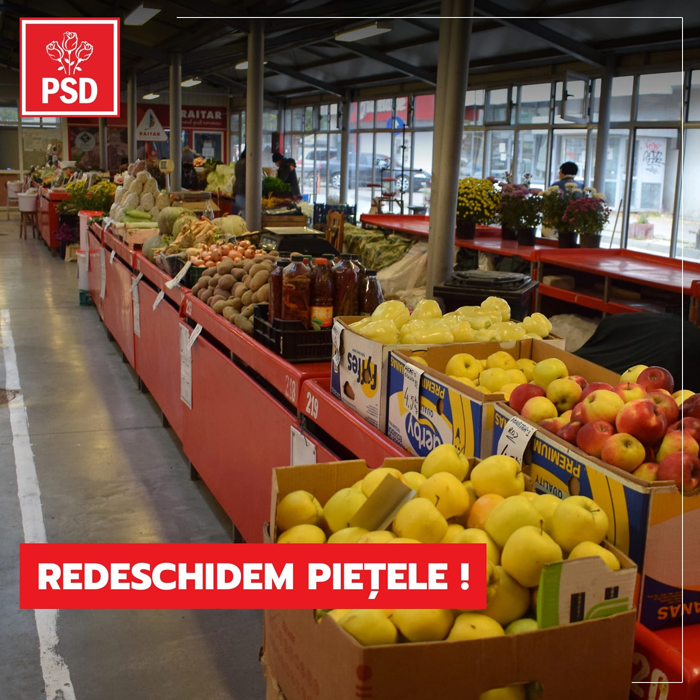 """MARIUS BUDAI: """"PSD repară prostiile guvernării PNL. A promovat și votat în Parlament redeschiderea piețelor și târgurilor în condiții de siguranță"""""""
