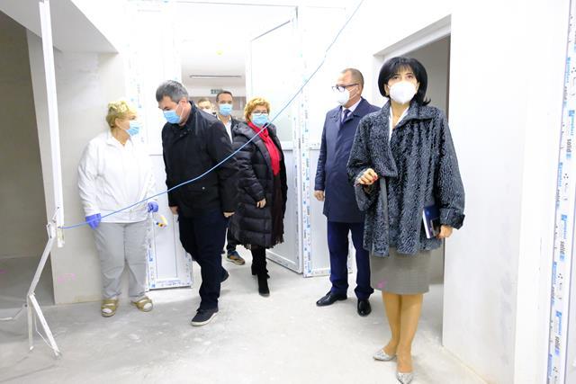 VIDEO/FOTO  Consiliul Județean investește peste 3,5 milioane de lei în dotarea ambulatoriului de specialitate al Maternității Botoșani
