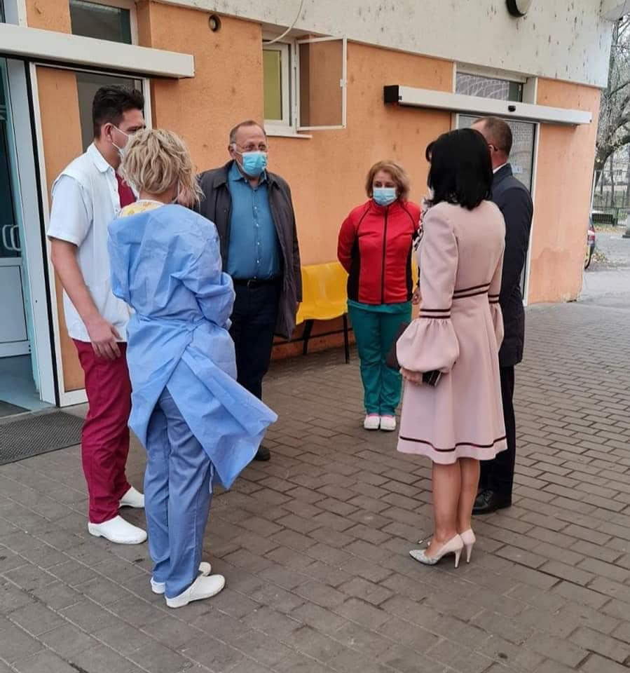 """Doina Federovici, președintele Consiliului Județean:  """" Am solicitat un control amănunțit, al tuturor instalațiilor, al aparaturii, precum și a condițiilor de punere în funcțiune a acestora la  Spitalul Mavromati  cât și la secțiile exterioare"""""""