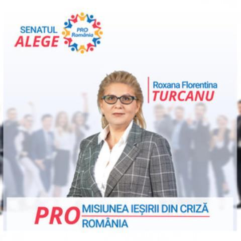 """Roxana Florentina Țurcanu, candidatul PRO România pentru Senatul României:  """"Alegerile parlamentare vor fi organizate , din păcate, cu orice preț!"""""""