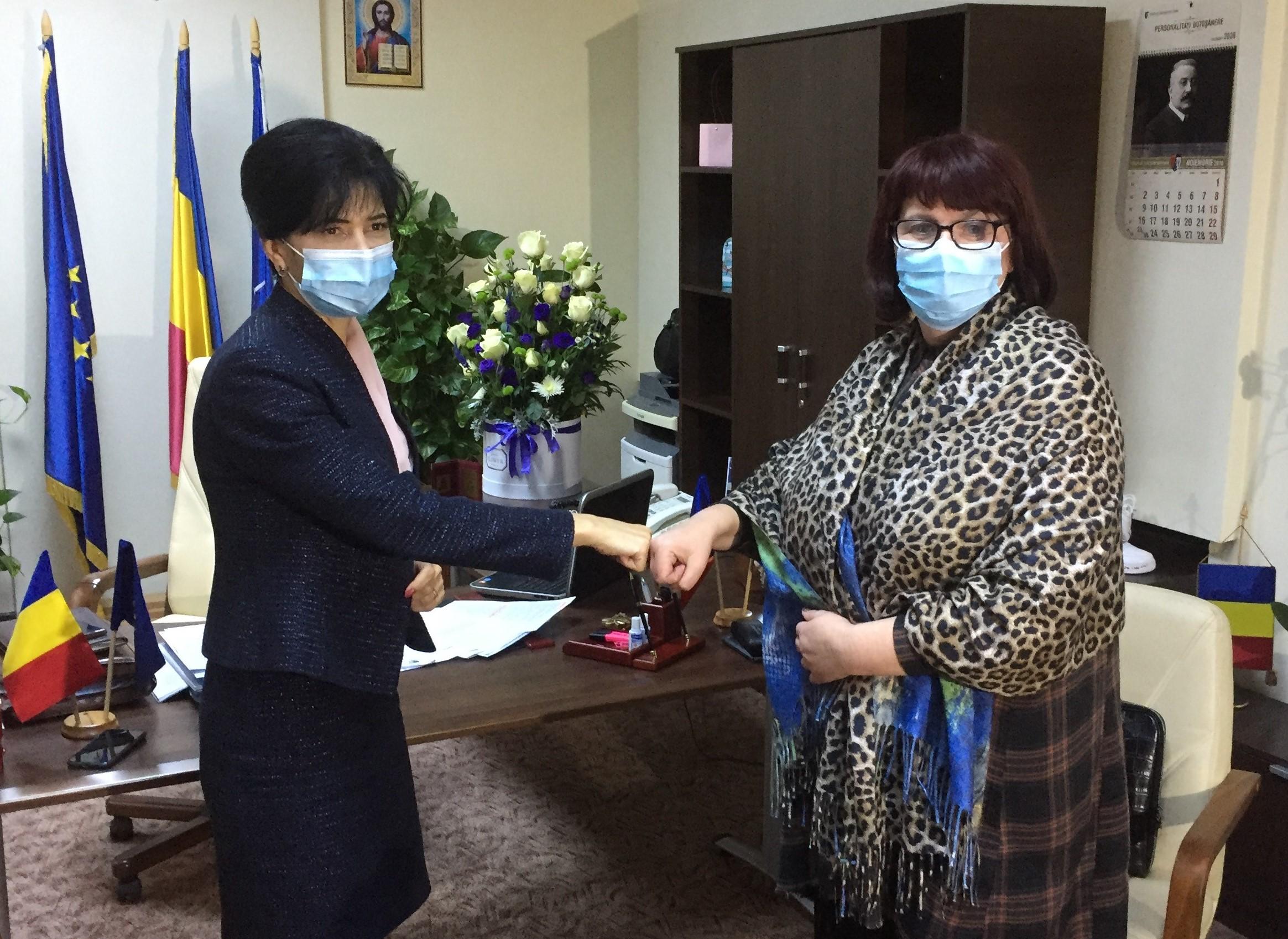 "Manager nou la Spitalul Județean ""Mavromati"""