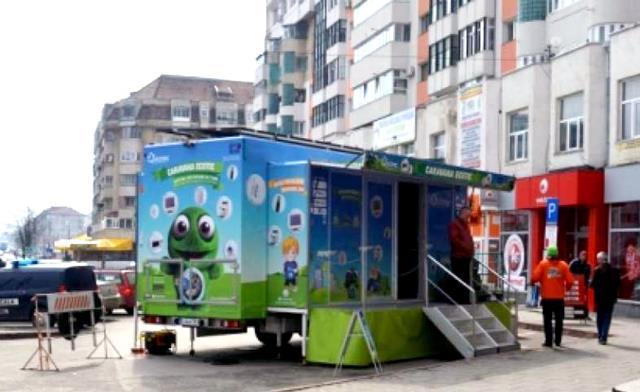 """Campania de colectare deșeuri electrice """"Orașe Curate"""" în Botoșani"""