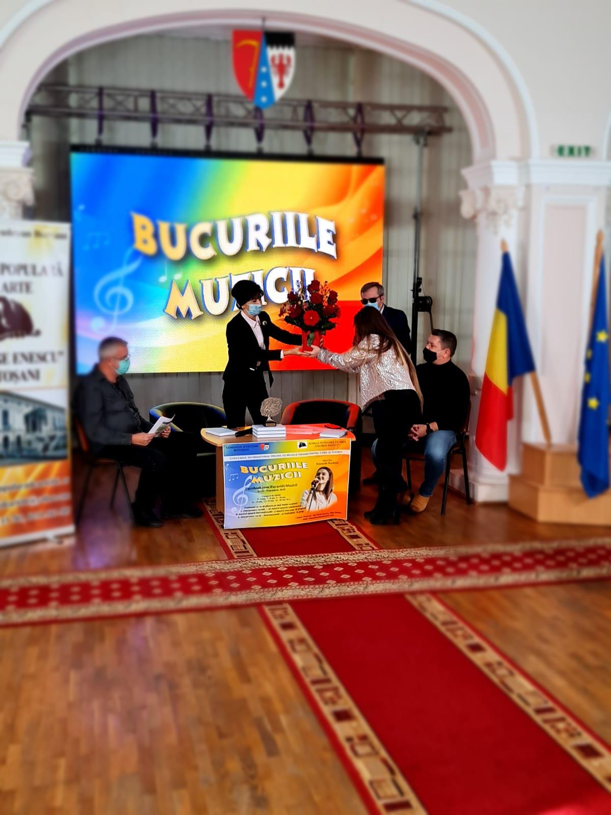 """FOTO/ Președintele Consiliului Județean a deschis festivitatea de premiere a Festivalului internațional """"Bucuriile muzicii – Ritmurile Nordului"""""""