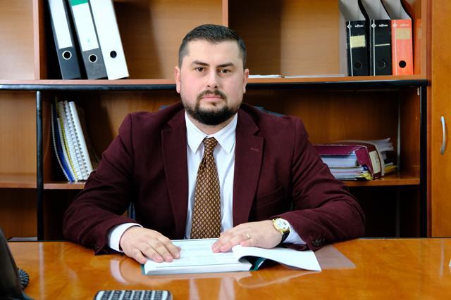 Mircea Magdalena, noul administrator public și-a început de astăzi activitatea în cadrul Primăriei Municipiului Botoșani