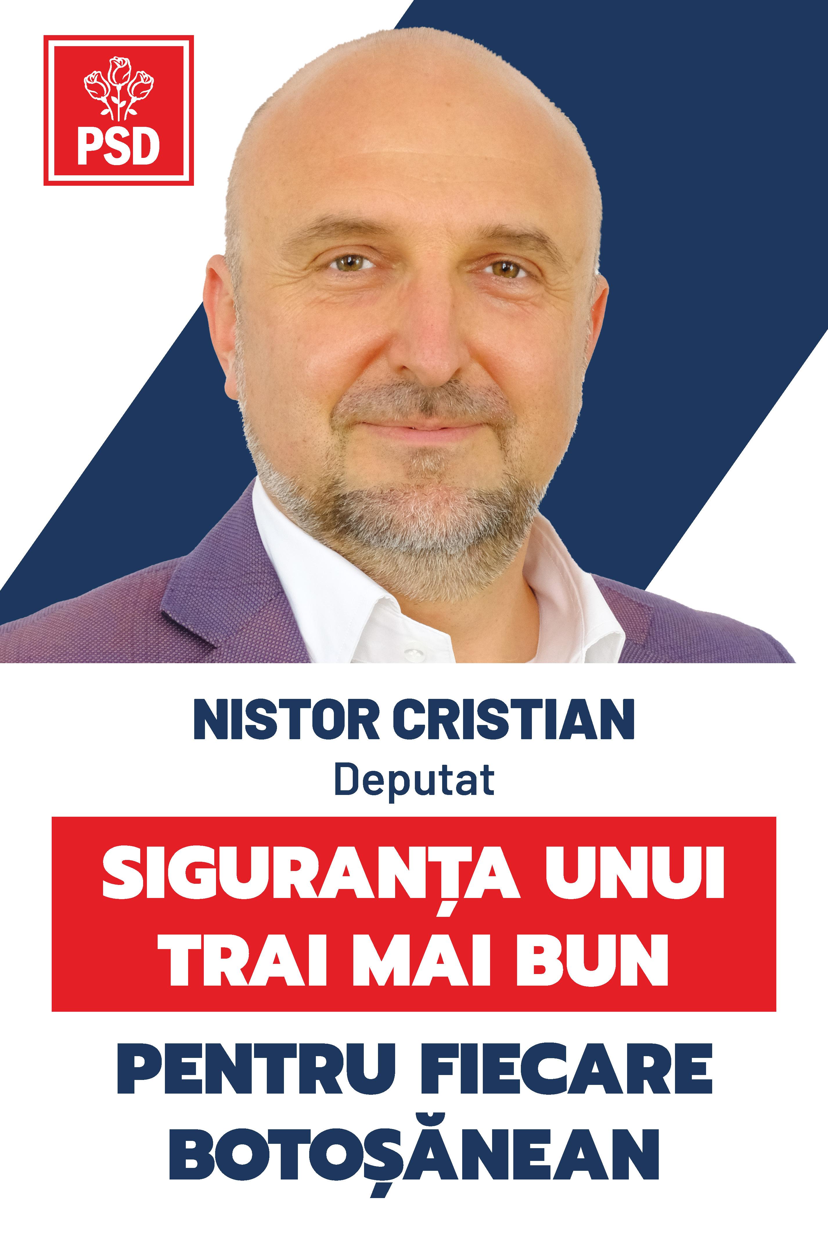 """(P)  Cristian Nistor, specialist în fonduri europene, candidat PSD la Parlament: """"În Guvernarea PSD, autoritățile locale devin motorul atragerii banilor europeni!"""