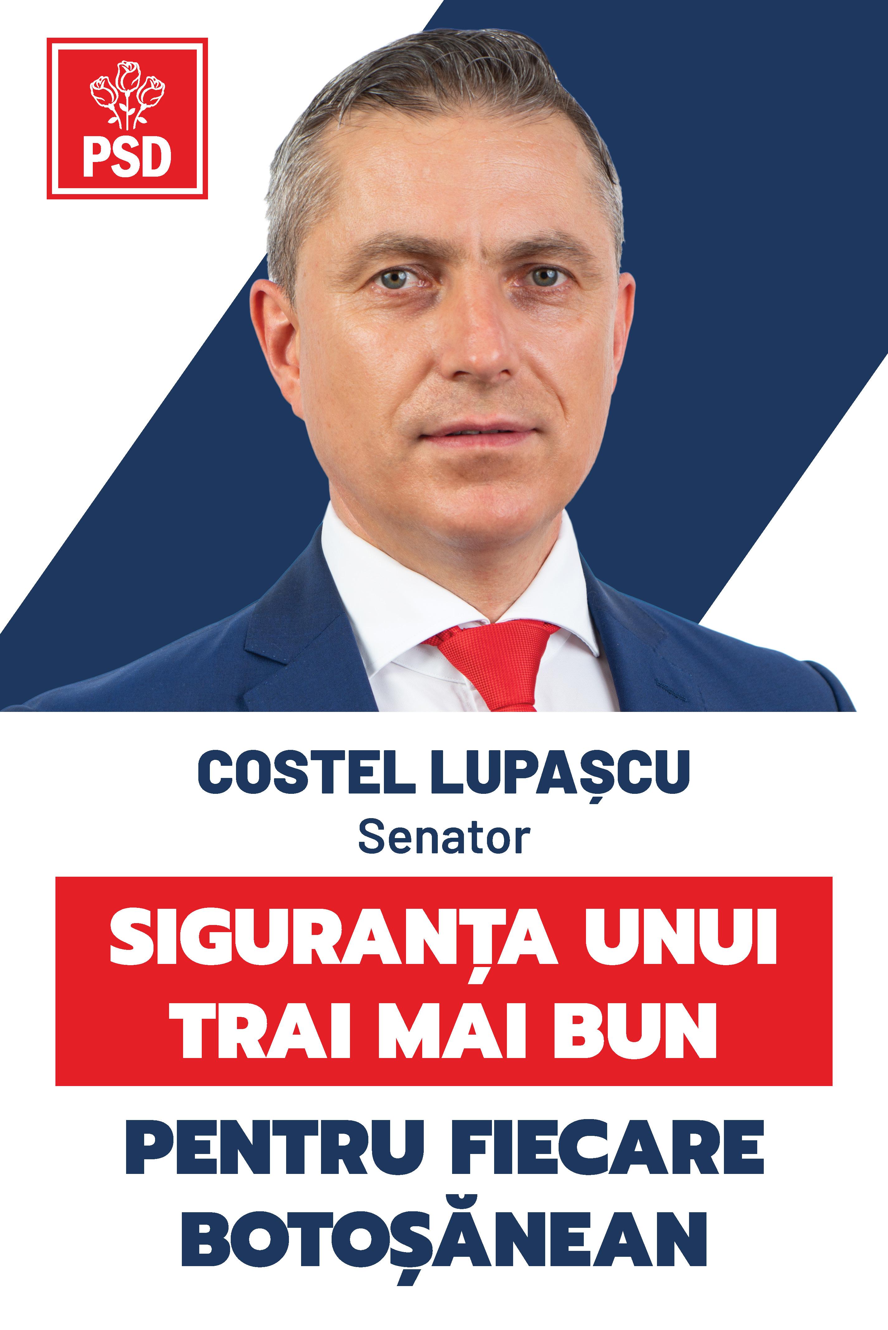COSTEL LUPAȘCU, deputat PSD solicită Demisia Guvernului Orban!