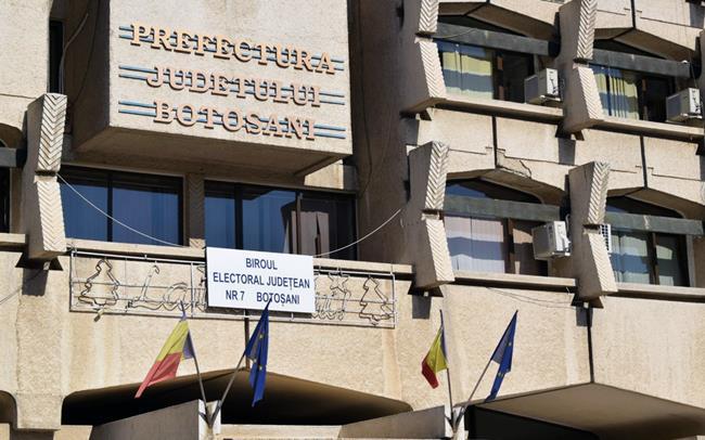 BECJ Botosani a stabilit ordinea pe buletinele de vot a listelor de candidați pentru alegerile parlamentare din 6 decembrie