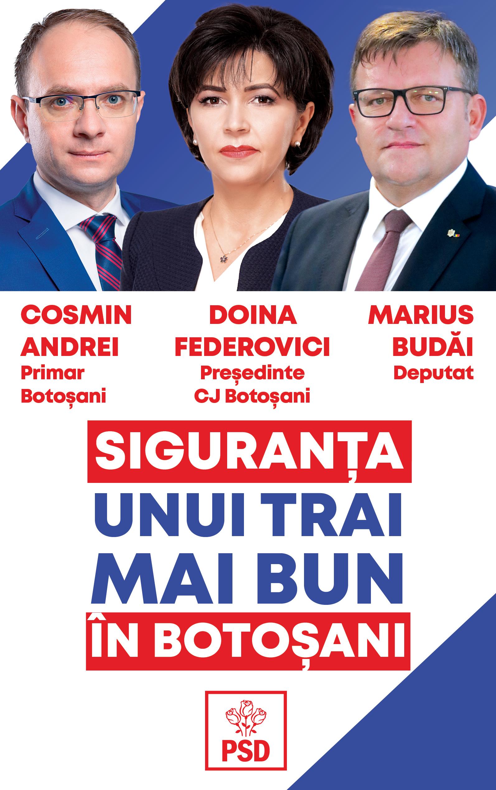 """(P) PSD Botoșani: """"Marea Unire din 1918 a fost şi rămâne pagina cea mai importantă a istoriei românești. La mulți ani tuturor românilor!"""""""