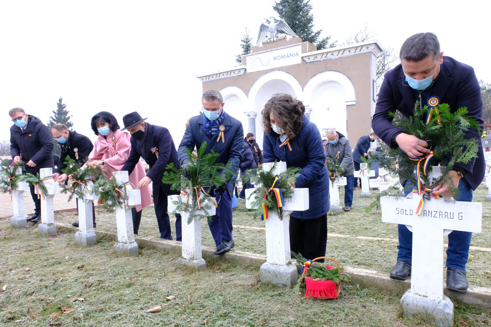 Ziua de 1 Decembrie, ziua dedicată tuturor românilor, nu a trecut neobservată, în actualul context epidemiologic
