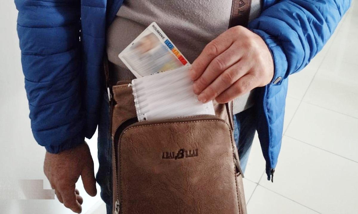 Carte de identitate falsă descoperită de poliţiştii de frontieră botoşăneni
