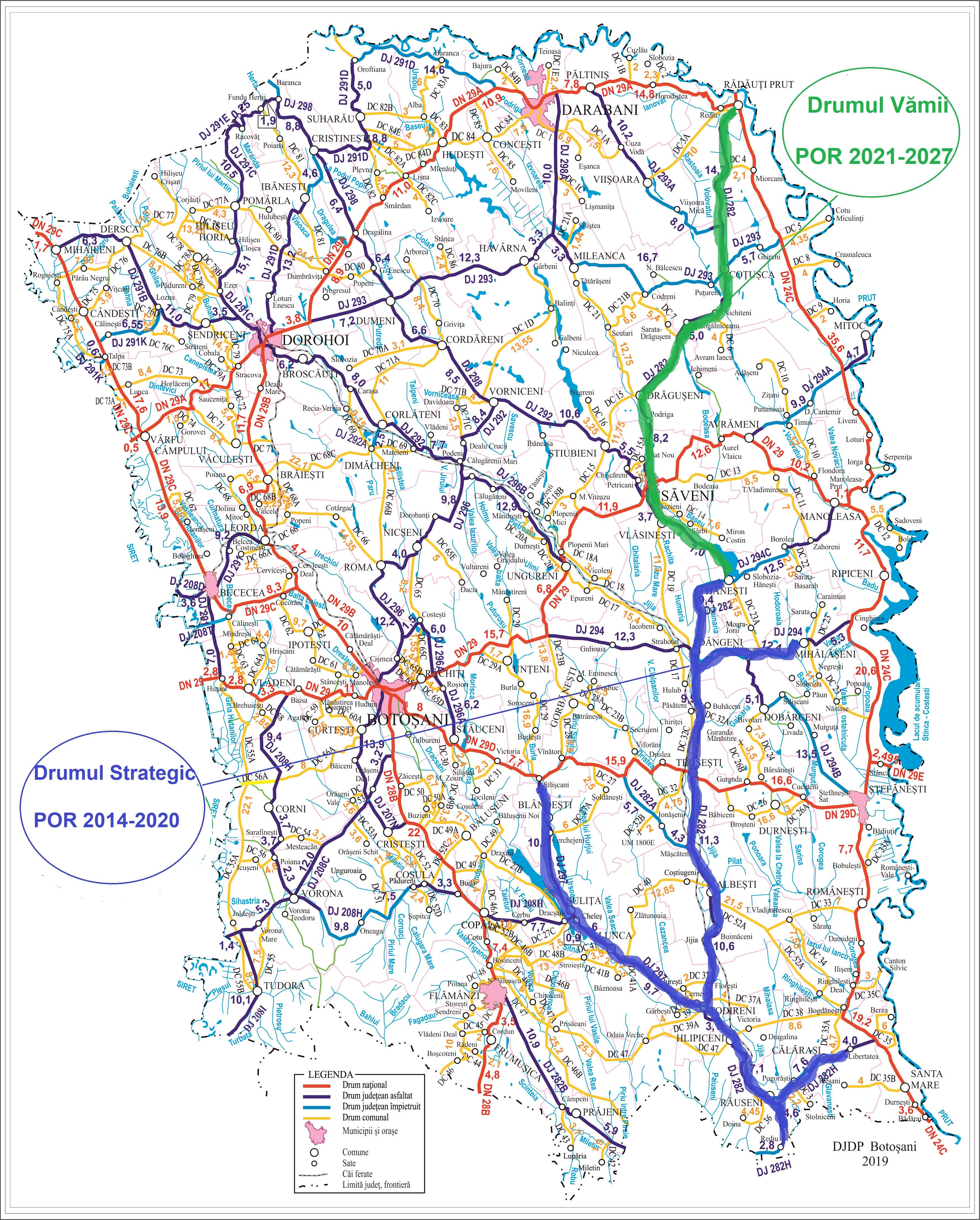 Drumul Vămii a fost aprobat de Consiliul pentru Dezvoltare Regională Nord-Est