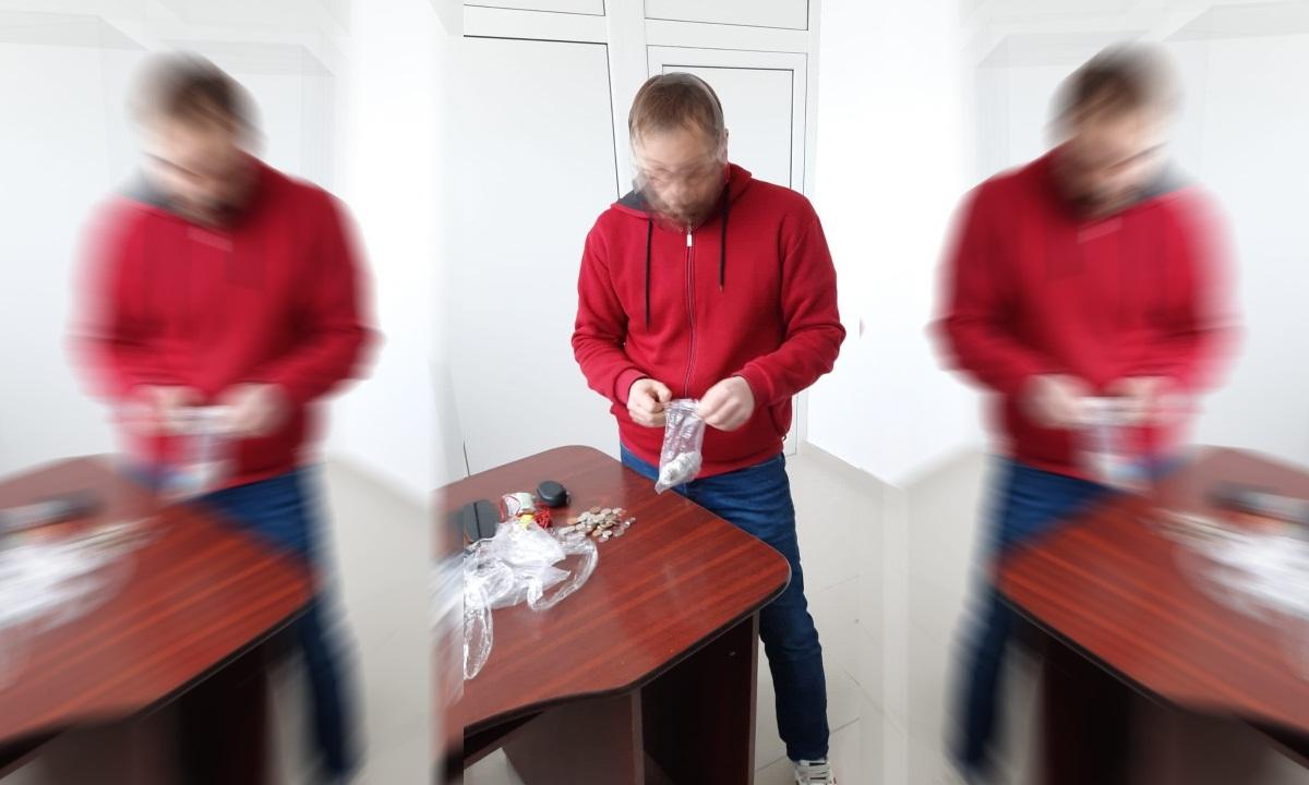 Cetăţean moldovean prins cu droguri de mare risc
