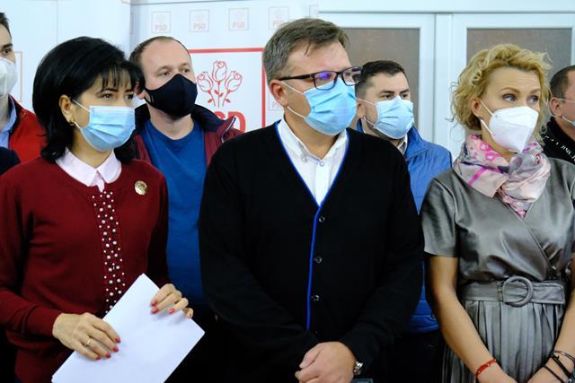 VIDEO/  Declarații la CALD din sediul PSD – Botoșani