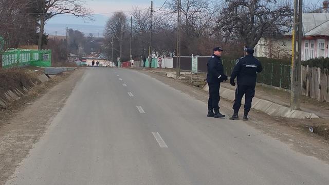 Jandarmii botoșăneni alături de cetățeni la sărbătorile de iarnă