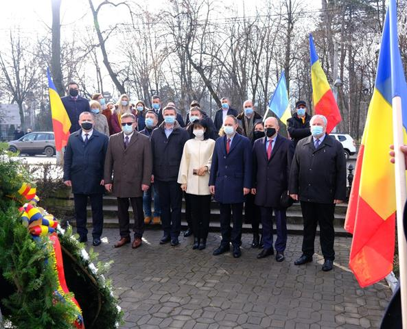 Ziua de 24 ianuarie, sărbătorită de PSD Botoșani