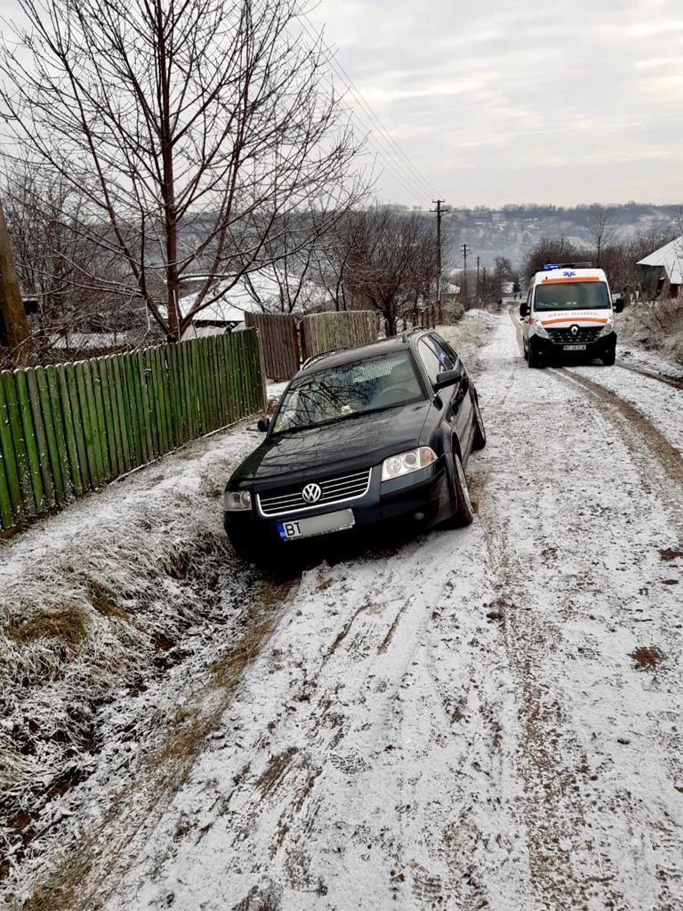 Tragedie la Văculești! Un bărbat și-a pierdut viața strivit de propriul autoturism