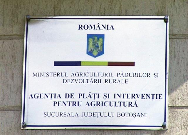 (APIA) Centrul Județean Botoșani: Stadiul autorizării la plată a Măsurii 21