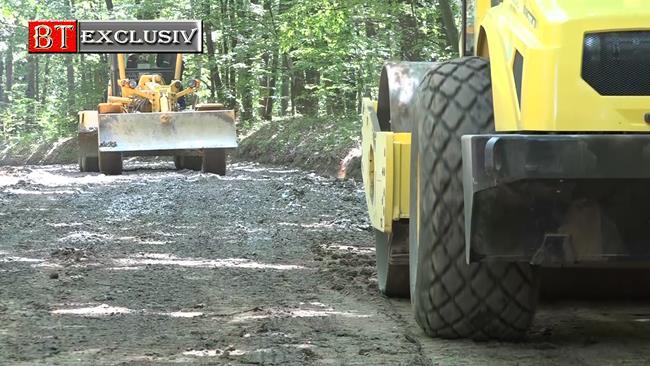 VIDEO/ Ordin de începerea lucrărilor pentru consolidarea alunecării de teren de pe drumul județean Dumeni – Havârna