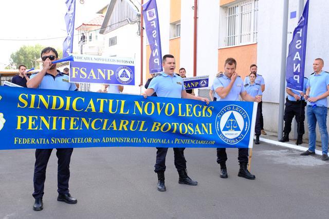 Polițiștii din Penitenciarul Botoșani vor ieși, ASTAZI, în stradă!