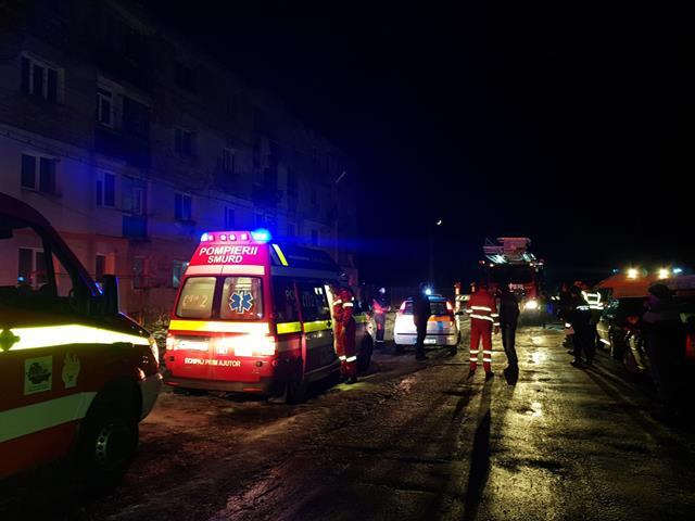 Femeie decedată iar soțul transportat la spital, în urma unei improvizații la sistemul de încălzire