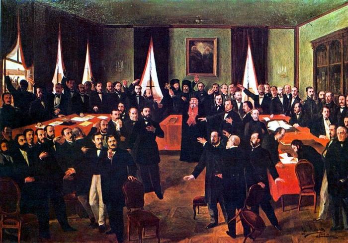 """24 ianuarie 1859: """"Mica Unire"""": Unirea Principatelor Române sub domnia lui Cuza"""