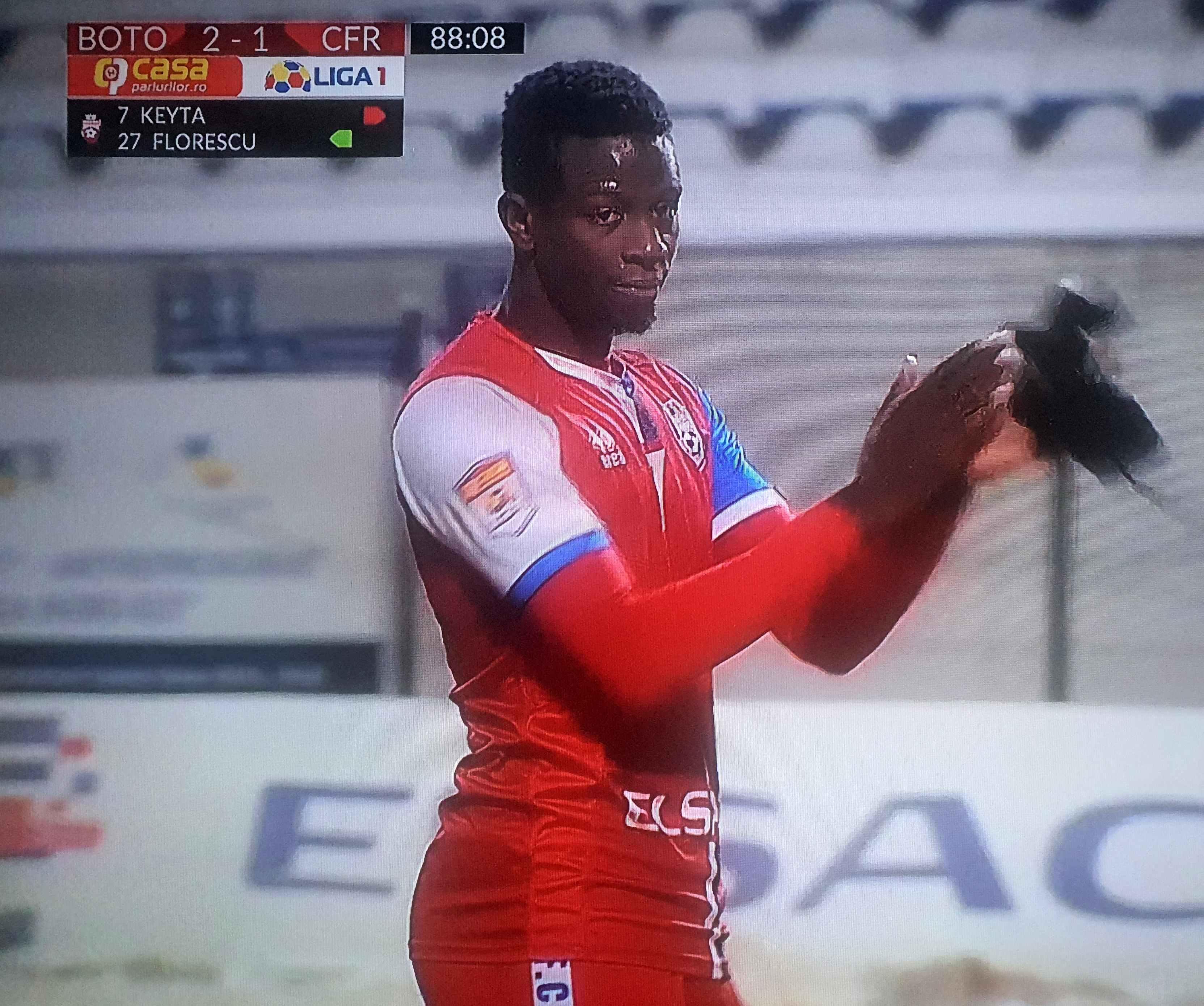FC Botoșani – CFR Cluj 2-1. VICTORIE  împotriva campioanei