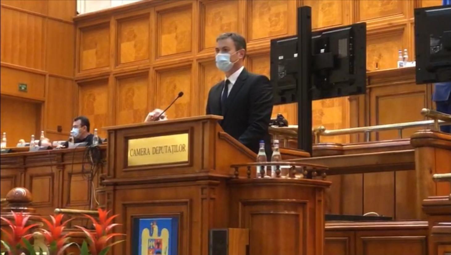 """Șlincu Dan:""""Ministrul Cîmpeanu recunoaște indirect eșecul guvernării PNL-USRPLUS în organizarea școlii pe timpul pandemiei."""""""